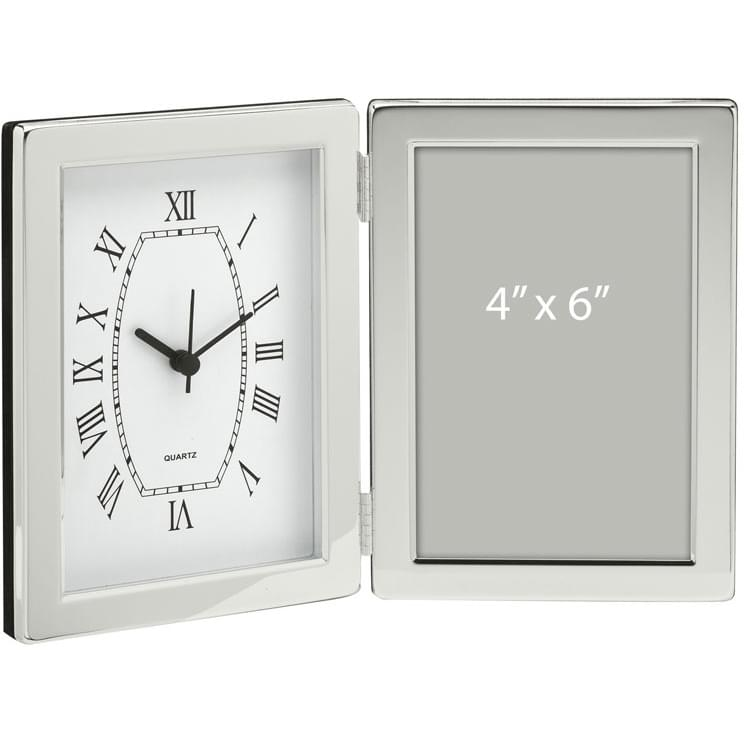 Desk Clock & Photo Frame