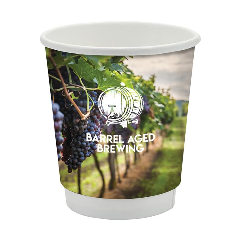 Përka® 8 oz. Double Wall Drinking Paper Cup