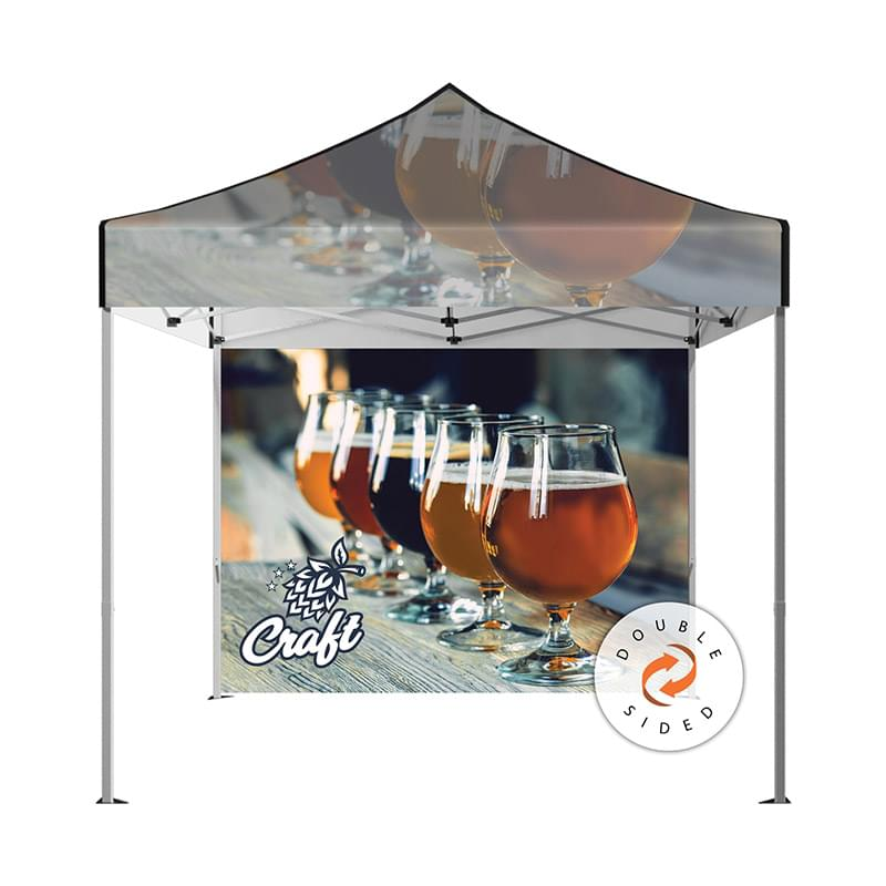 DisplaySplash 10' x 10' Double-Sided Tent Wall