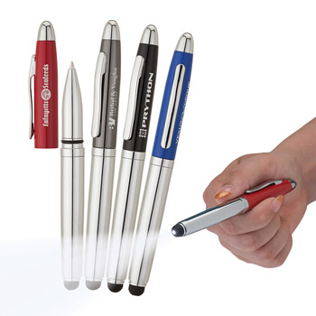 Aperture Ballpoint Pen / Stylus / LED Light