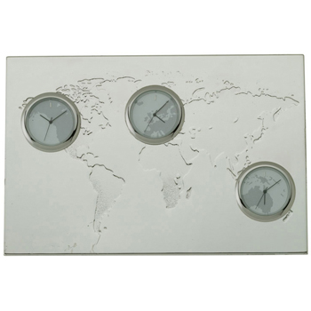 3-Zone Desk Clock