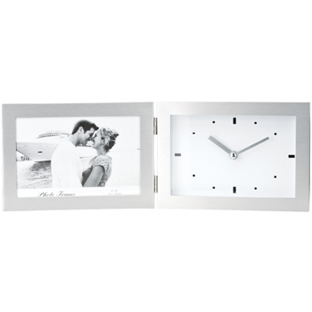 Clock & Photo Frame