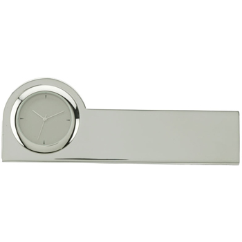 Clock & Business Card Holder