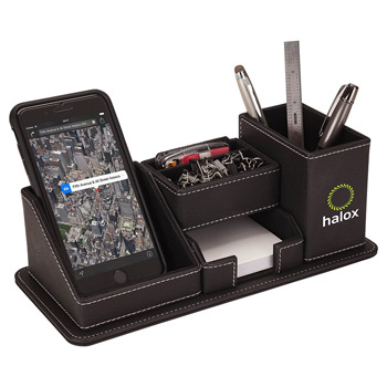 Desk Organizer w/Phone Holder