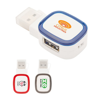 Dual-Port USB 2.0 Hub / Reader