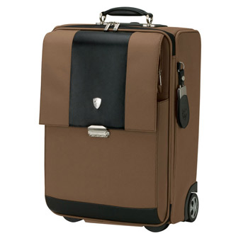 Light Brown Trolley Case