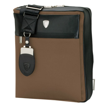 Lamborghini Light Brown Shoulder Bag