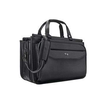 Solo Classic Triple Compartment Briefcase