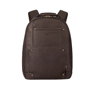 Solo Executive Leather Backpack