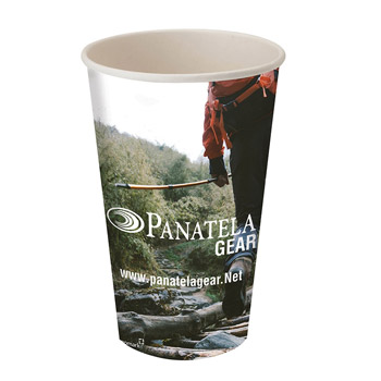 16oz Single Wall Paper Drinking Cup