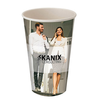 20oz Single Wall Paper Drinking Cup