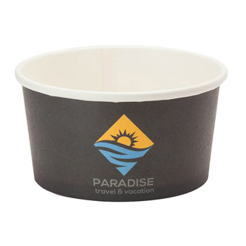 Përka® 8oz Snack/Ice Cream Paper Cup
