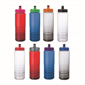 26 oz. PET Bottle with Pull Spout Lid