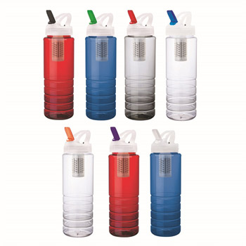 26 oz. PET Bottle with Flip Spout & Filter