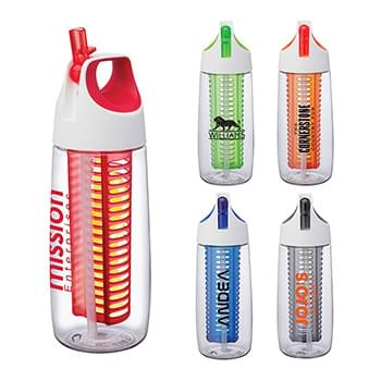 Cruise 28 oz. Tritan™ Bottle w/ Flip Spout, Straw & Infuser