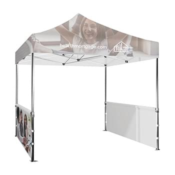 DisplaySplash 10' x 3' Single-Sided Tent Wall, 2pc Set