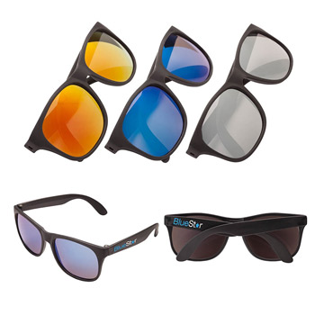 Sharp Mirrored  Sunglasses