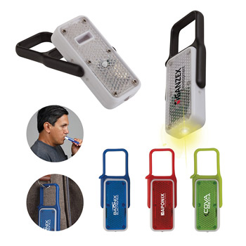 LED Safety Reflector Whistle