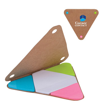 Bermuda 4-Color Sticky Note Set