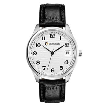 Classic Style Dress Watch Unisex Dress Watch with Date Display