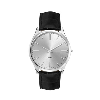 Men's Slimcase Stainless 2-Hand Watch