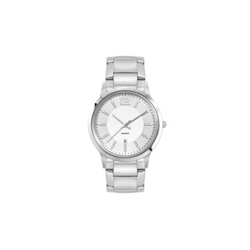 Ladies Silver Stainless Steel Case, and Stainless Steel bracelet