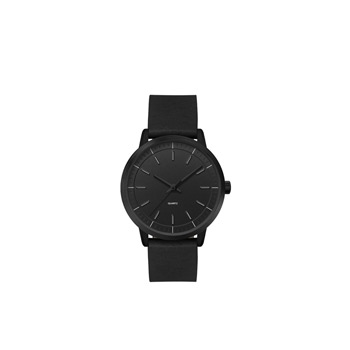 Ladies 30.5mm Black Metal Case with Black Dial