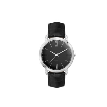Men's 40mm Metal Case with 3-Hand movement